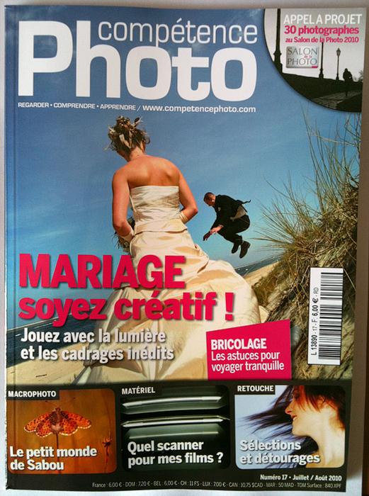 """Davidone fait la couverture du magazine photo """"Competence Photo"""" N°17"""